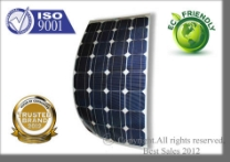 SEMI-FLEXIBLE SOLAR PANELS 10W,20W,40W,50W,60W,80W,100W