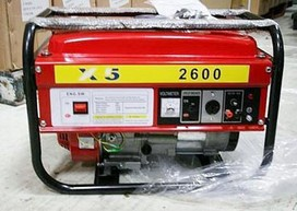 240V POWER PORTABLE GENERATOR 3000 WATT 4 HP