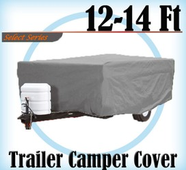 Heavy Duty 12-14 ft 4 Layer Caravan Campervan Cover UV Waterproof Carry bag