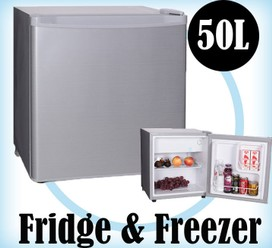 50L Portable Freezer Fridge 12V24V240V Camping Car Boating Caravan Bar Fridge