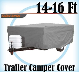 Heavy Duty 14-16 ft 4 Layer Caravan Campervan Cover UV Waterproof Carry bag