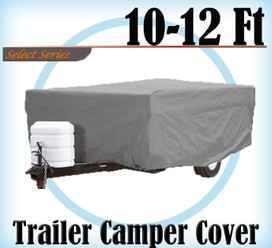 Heavy Duty 10-12 ft 4 Layer Caravan Campervan Cover UV Waterproof Carry bag