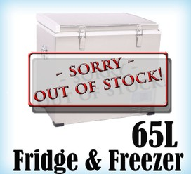 65L Portable Freezer Fridge 12V24V240V Camping Car Boating Caravan Cooler