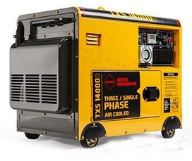 2015 GENPOWER 11kVA OSE Diesel Three and Single-Phase Portable Generator
