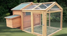 Chicken Coop Hen House Chook Cage Guinea Pig Hutch Run