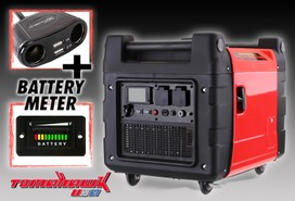 NEW SILENT 5.6KVA INVERTER GENERATOR for caravan camping fishing