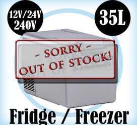 35L Portable Freezer Fridge 12V24V240V Camping Car Boating Caravan Cooler