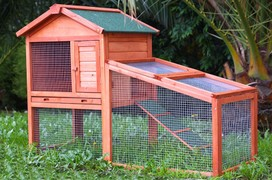 Large Rabbit Guinea Pig Hutch Ferret House or Chicken Coop